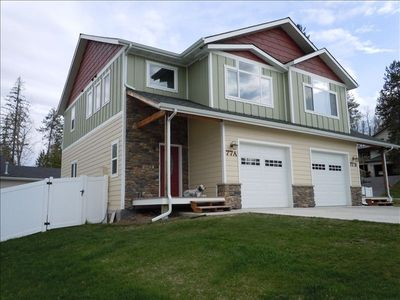 Photo for Newer Luxurious 3BR, 2.5 BA  Townhouse Convienent in Whitefish!