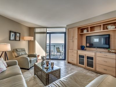 Photo for STUNNING OCEANVIEW W/ TOTALLY UPGRADED 3 BED/2 BATH UPGRADED OCEANFRONT POOL
