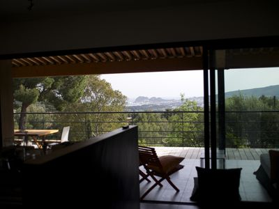Photo for Superb architect house panoramic bay of La Ciotat Ceyreste