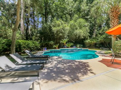 Photo for DOG FRIENDLY, Three Bedroom Near Ocean Sea Pines Home with a Private Pool!