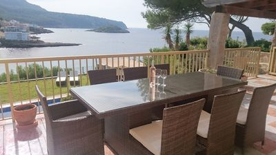 Photo for 4/5 Bed South facing Villa, Panoramic Sea Views and Large Private Pool, Sant Elm