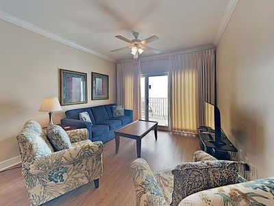 Photo for Gulf Front Condo with Private Balcony and Amazing Views of the Gulf! Great Resor