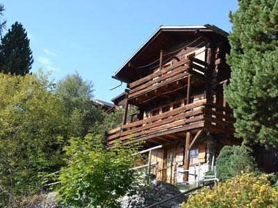 Photo for Outside : chalet for 6 persons, balcony and terrace with garden furniture -Inside : 80 sqm, separate
