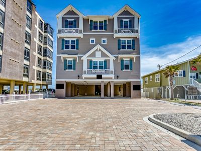 Photo for BRAND NEW for 2019 - Oceanfront Home - Sleeps 26! 8BR/8.5BA