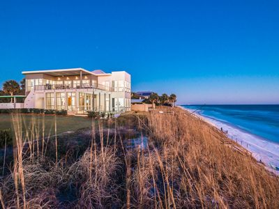 "Photo for ""Pinner House"" - Private Gulf Front Pool! Spectacular Views! Comp Beach Setup"