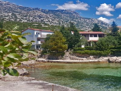 Photo for house on the beach in Park of nature Velebit