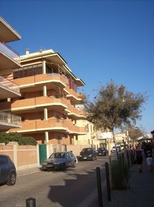 Photo for Cozy apt. VERY Near Rome on BEACH FRONT, wide TERRACE & FREE wi-fi