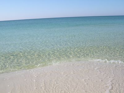 Short walk will bring you to this beautiful beach