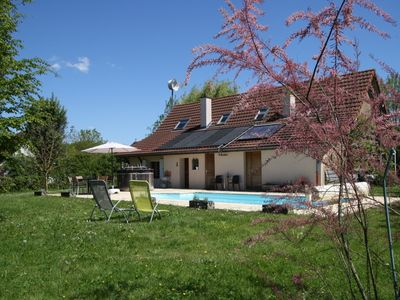 Photo for Holiday home in Burgundy with pool