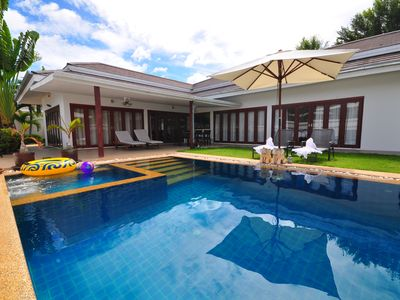 Photo for This modern villa offers 4 bedrooms, 3 bathrooms