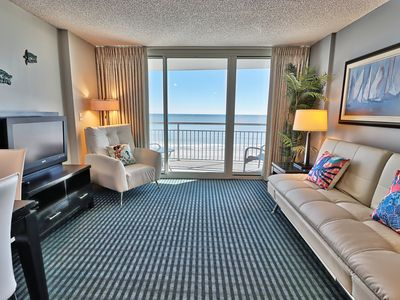 Photo for Newly Renovated Breathtaking Pristine Luxury 1Br/1Ba /Oceanfront/pools/Quiet/WF