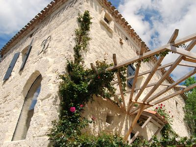 Photo for Historical holiday home near Cahors and with beautiful views.