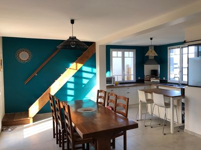 Photo for Maison Agon-Coutainville 6 people, 3 bedrooms, 350m sea, calm 3 stars - ANCV