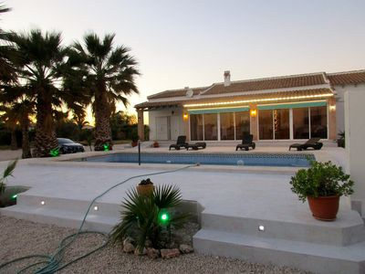 Photo for Modern villa with large garden and pool on the Costa Blanca near the sea