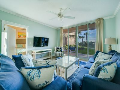 Photo for Waterscape A102 ~ Dual Master BRs ~ Ground floor & one of the Closest 2BR to the beach!