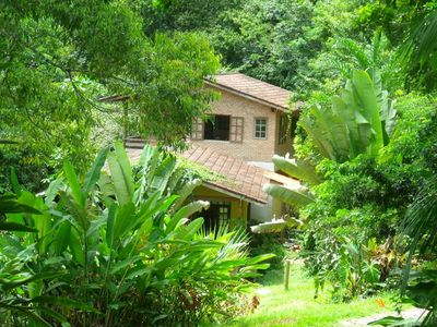 Photo for Site in the Atlantic Forest of Paraty, 3 Bedrooms with Private Waterfall