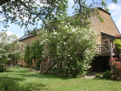 Photo for Unique and charming holiday home in the Ardennes with garden and play areas, near Virton