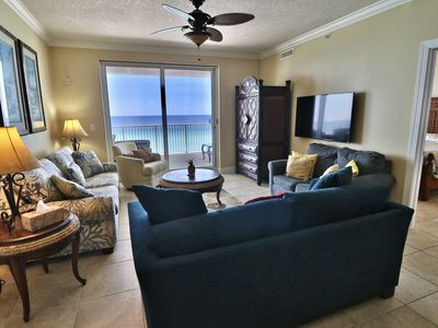 Photo for Ocean Ritz 4 Bedroom 4 bath***2 Master BRs on the ocean**Nicest Balcony in PC