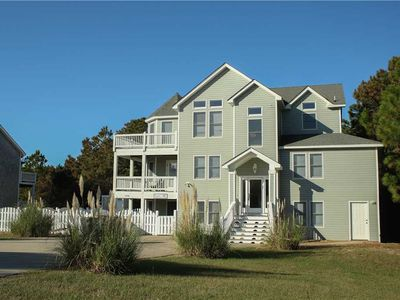 Photo for #430: OCEANSIDE in Corolla w/PRVTPool, HotTub & RecRm w/PoolTbl