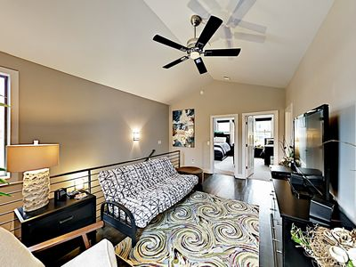 Photo for Chic WeHo Townhome w/ 2 Living Rooms - 4 Miles from Downtown