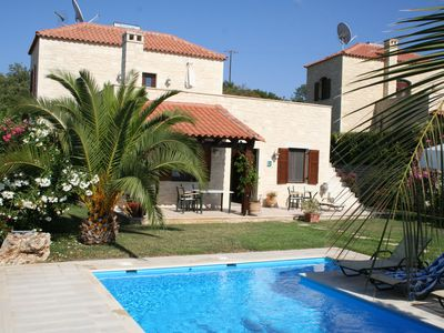 Photo for Traditional Stone Villa With Private Pool And Sea View
