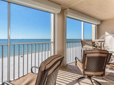 Photo for Casa Bonita II 506, 2 Bedrooms, Gulf Front, Elevator, Sleeps 4, Heated Pool
