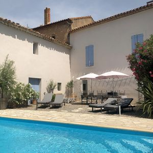 Photo for Pair of lovely village houses with private pool 6 bed 4 bath Wifi Freesat TV