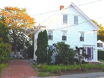 Photo for 241 Main Street (ID #134371) ~ Wellfleet Village Three Bedroom Greek Revival