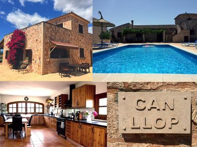 Photo for A holiday dream near Es Trenc, pure relaxation, renovated in 2016/17 - Finca Can Llop