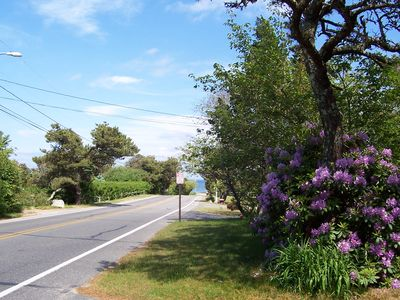 Nauset Beach entrance from our house