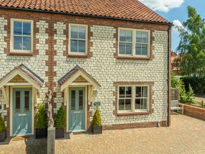 Photo for A newly built cottage situated just off the Norfolk coastal path.