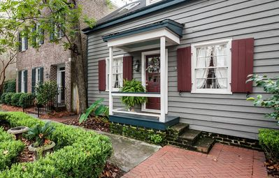 Photo for Holly's Cottage. Circa 1867 Historic home. 3 blocks from Forsyth Park.