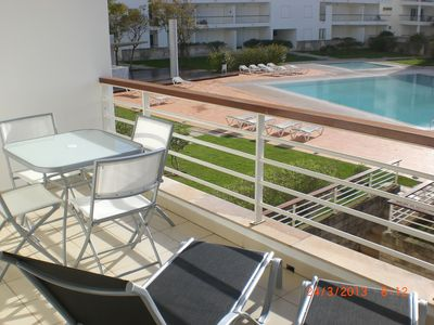 Photo for Luxury 2 bed apartment on the Marina de Lagos with shared pool & WiFi