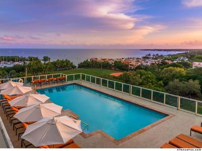 Photo for LUXURY 2 BED CONDO at HOTEL ARYA/COCONUT GROVE - BAY VIEW AND FREE PARKING!!
