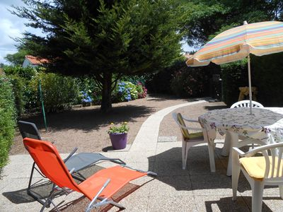 Photo for With collective swimming pool, Pavilion 4/6 pers with garden at 900 m from the beach