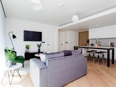 Photo for Luxurious modern home within the old BBC Television centre with balcony (Veeve)