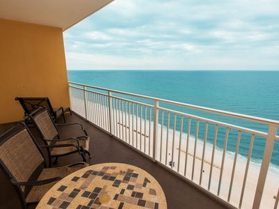 Photo for Sterling Reef beach getaway! Steps to the beach, pool, hot tub & gym!