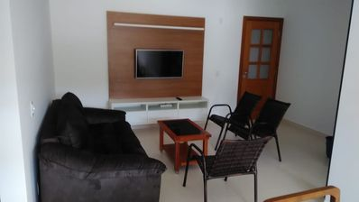 Photo for (Apartment 24) 2 bedrooms Toninhas beach, excellent location.