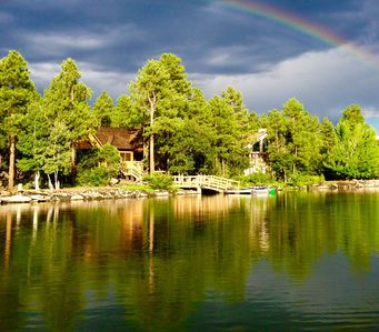 Photo for ON THE LAKE! Pinetop
