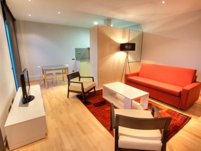 Photo for Apartment in the center of Barcelona with Internet, Air conditioning, Lift, Parking (743424)