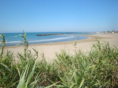 Photo for Cap d'Agde house feet in the water - private direct access to the beach