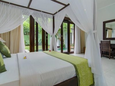 Photo for 8 Bedrooms, 3 Private Villas 3 Pools, Walk to Shops, Restaurants, Beach