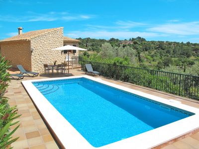 Photo for 3 bedroom Villa, sleeps 6 in Alaró with Pool, Air Con and WiFi