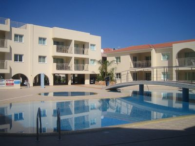 Photo for Luxurious apartment on a delightful complex with large pool and tennis court