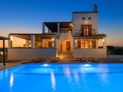 Photo for Villa With Private Pool, Garden, Breathtaking Sea View And Beach.