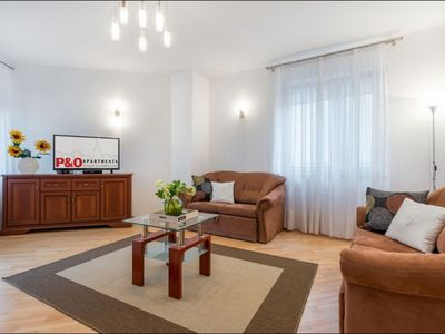 Photo for Grodkowska apartment in Wola with WiFi, air conditioning, private parking & lift.