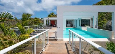 Villa Eclipse -  Ocean View - Located in  Magnificent Vitet with Private Pool
