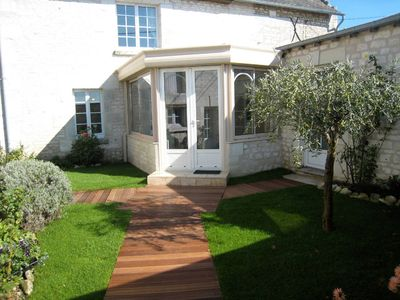 Photo for Cottage touraine between Chinon and richelieu fully air-conditioned