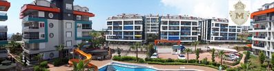 Photo for 1-bedroom apartment in a luxury complex with sea, water park and garden views