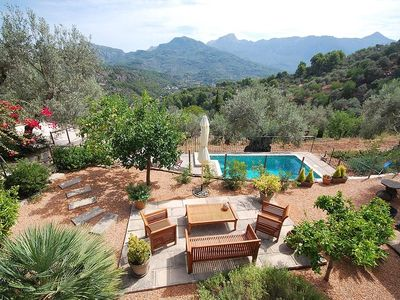 Photo for Cottage house with pool in the hillside of Sóller - VT1734